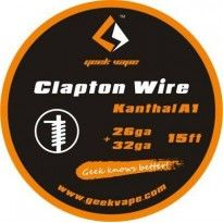 Clapton Kanthal 26ga+32ga