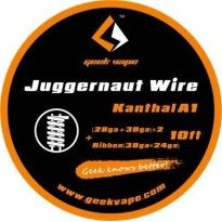 Juggernaut (28ga+38ga)*2+Ribbon(38ga*24ga)