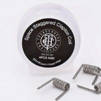 Space Staggered Clapton Coil